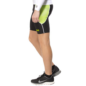 arena Tri Shorts ST black/pea green